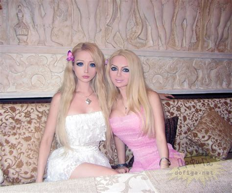 real barbie meet the family of real life barbie valeria lukyanova