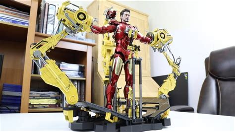 unboxing hot toys diecast iron man mark iv suit