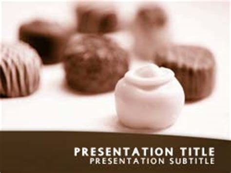 chocolate templates for powerpoint free download royalty free chocolates powerpoint template in orange