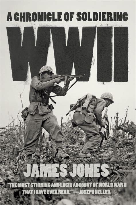 wwii a chronicle of soldiering jones