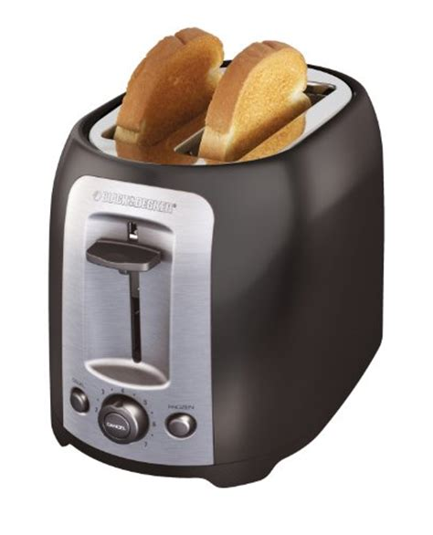 Black And Decker Toaster Black And Decker Tr1278b 2 Slice Toaster Black New