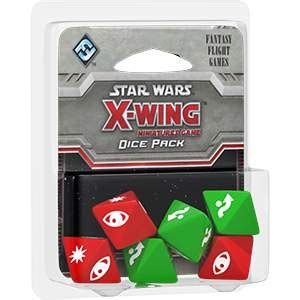 Wars X Wing Miniatures Dice Pack wars x wing miniatures dice pack