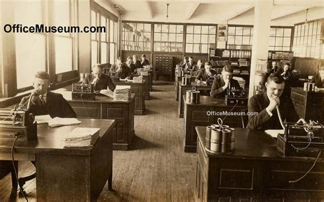office photos 1920s