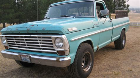 67 ford f250 1967 67 ford f250 f 250 3 4 ton p u truck for sale