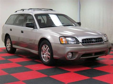 how to fix cars 2003 subaru outback electronic toll collection purchase used 2003 subaru outback automatic awd clean rust free in houston texas united states