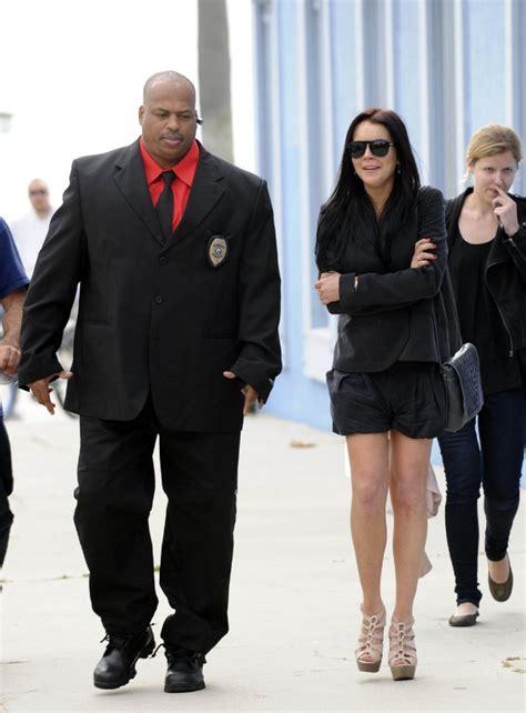 Lindsay Lohans Bodyguard Blasts Parents i will always you bodyguard best