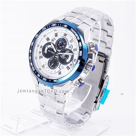 Jam Tangan Edifice Ef 554d Silver gambar jam tangan edifice ef 554d warna silver biru