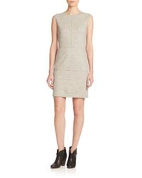 05 Dress Christine rag bone christine sleeveless wool dress in gray lyst