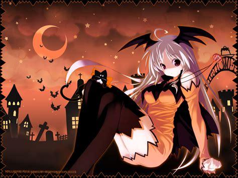 anime girl halloween wallpaper la casita de caro anime halloween wallpapers