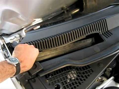 cabin air filter replacement  dodge charger | dodge cabin