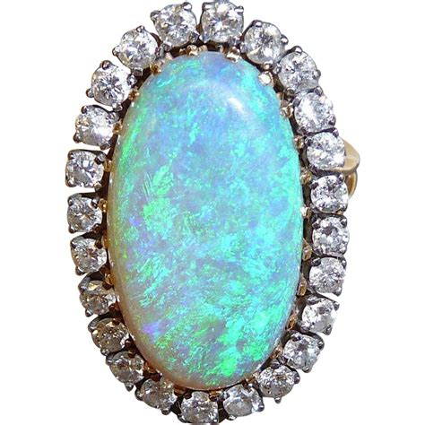 Black Opal Jarong Big Size 20 superb 14k large black opal ring from bejewelled on ruby