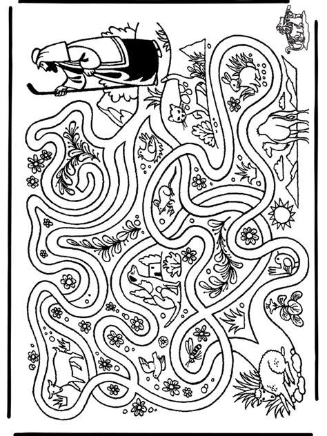 counting sheep coloring page herder zoekt schaap knutselwerkjes