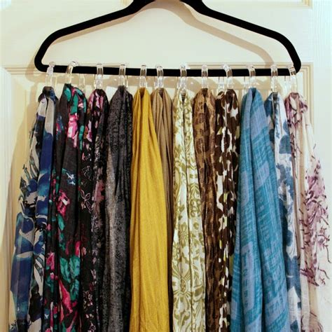 how to hang a curtain scarf 17 best ideas about hang scarves on pinterest organizing