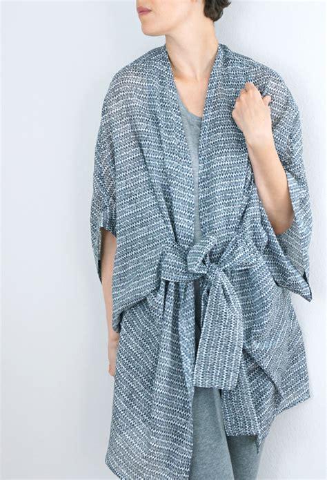pattern kimono diy almada robe by seamwork magazine sew diy