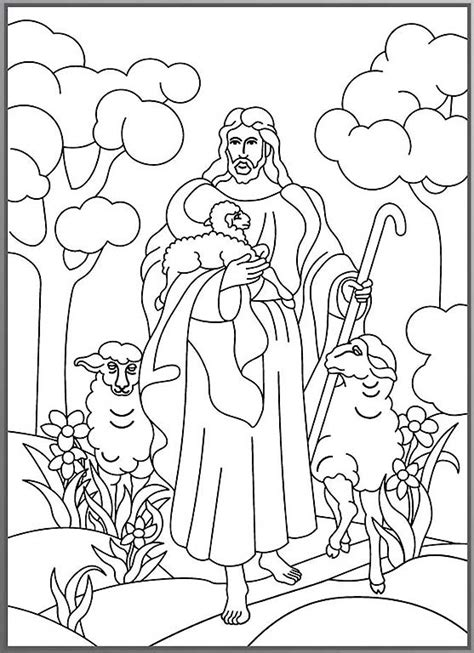 coloring page the lost sheep lost sheep coloring pages 171 free coloring pages