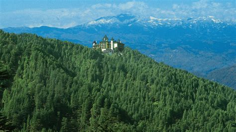 The Terrace Shimla India Asia oberoi wildflower shimla a kuoni hotel in himalayas