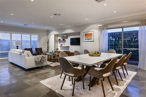 dining table rug open plan living dining space modern