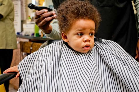 infant boys first mohawk african american first hair cut baby tot pinterest boy haircuts