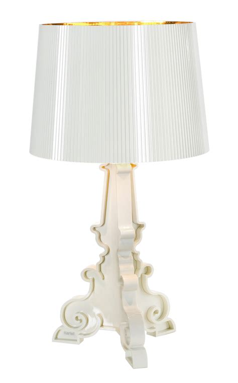 Kartell Bourgie Table L Bourgie Table L White Gold Inside By Kartell