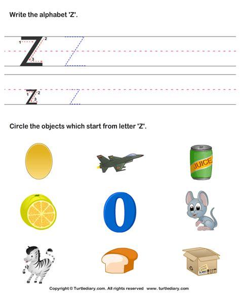 Words Letter Z Letter Z Words For Kindergarten Boxfirepress