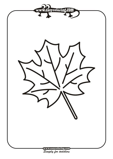 coloring pages of leaf shapes free coloring pages of leaf shapes