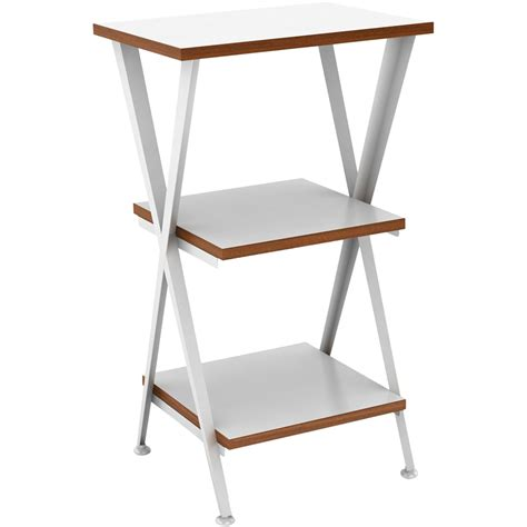 Side Table Shelf by Three Shelf Table In Side Tables