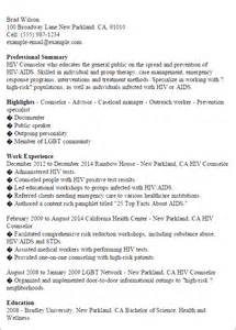 professional hiv counselor templates to showcase your