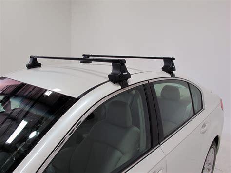 thule roof rack for 2012 legacy by subaru etrailer