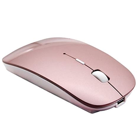 Mouse Laptop Bluetooth tsmine bluetooth mouse rechargeable wireless mouse 5