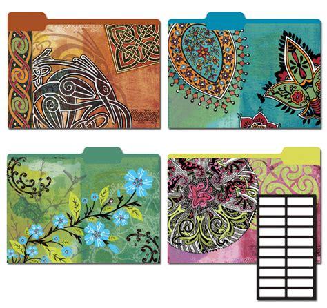 Decorative File Folders Wholesale Decorative File Folders 8 Pkg Mystique Sku