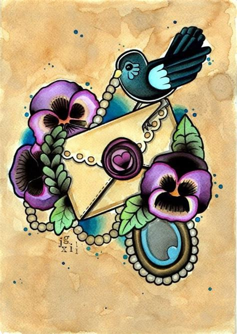violet tattoo flash 66 best love is patient love is kind images on pinterest