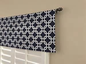 Navy Blue Kitchen Curtains Window Valances Navy Blue Valance Kitchen Window By Homemakeover