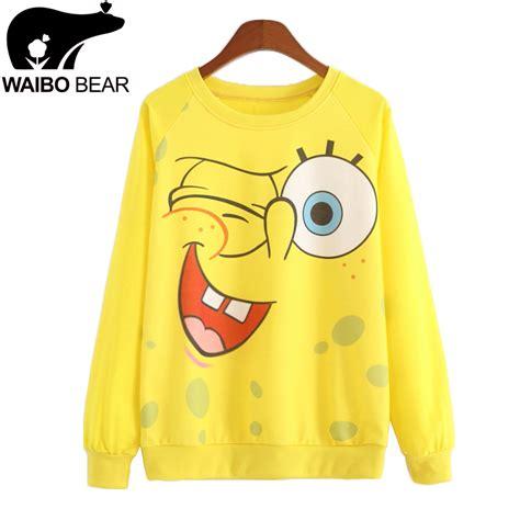 Raglan Spongebob 03 achetez en gros smiley pull en ligne 224 des grossistes
