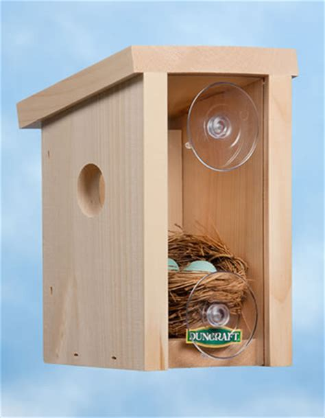 see through window bird house songbird owl woodpecker bird houses roosting boxes nesting shelves