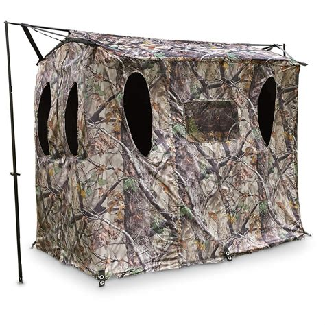 Is Blind by X Stand X Blind Portable Ground Blind 651636