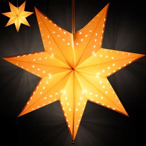 weihnachtsstern beleuchtung 2x weihnachtsstern mit beleuchtung leuchtstern