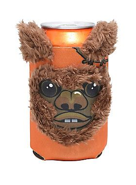 ewok slippers wars ewok fuzzy can coozy topic