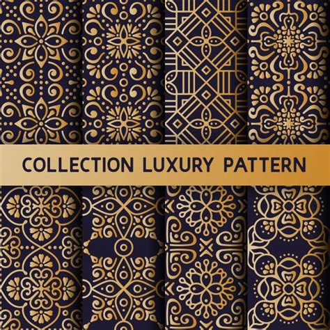 vector pattern luxury luxury patterns vector free download