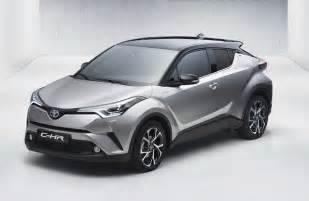 Toyota C Toyota C Hr Production Compact Suv Leaks Out Early