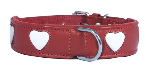 wholesale collars leather wholesale collar with white design small to big dogs staffy collars