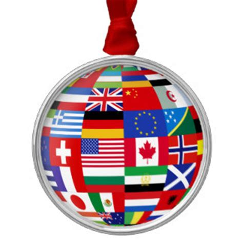 world flags globe christmas ornaments world flags globe