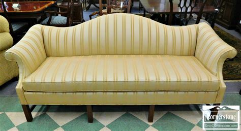 Gold Striped Sofa by Camelback Sofa Baltimore Maryland Furniture Store