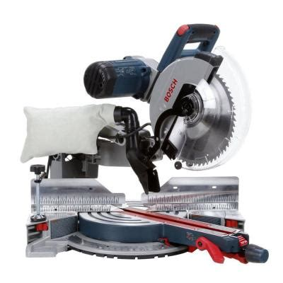 bosch 15 12 in dual bevel glide miter saw gcm12sd