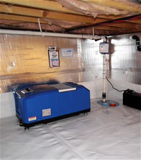 crawl space dehumidification system in salt lake city