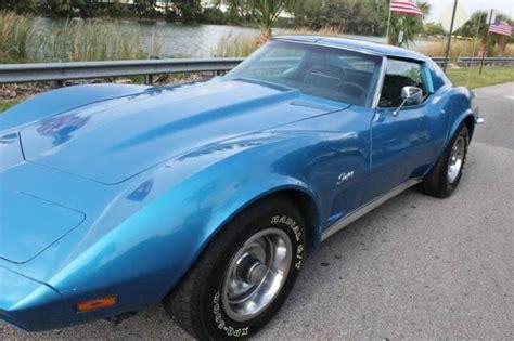 free car manuals to download 1973 chevrolet corvette spare parts catalogs 1973 chevrolet corvette t top matching engine 4 spd manual blue blue low miles for sale