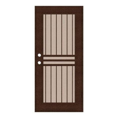 home depot security doors unique home designs 32 in x 80 in plain bar copperclad