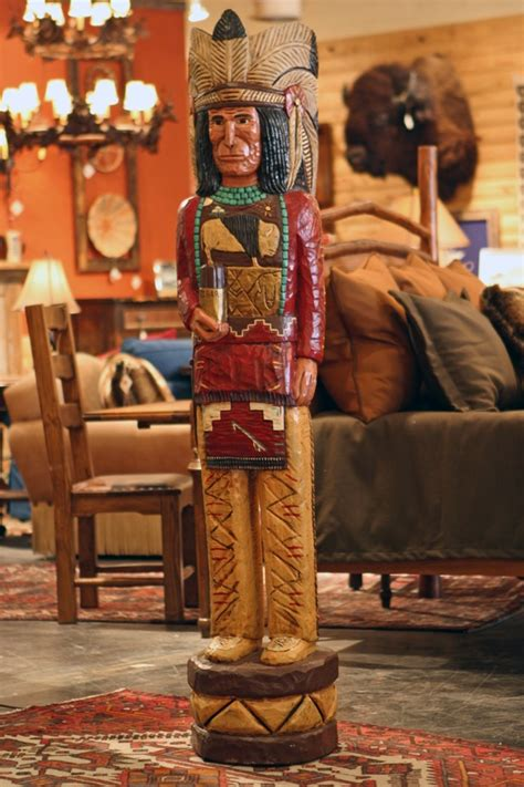 Home Decor Store Dallas by Cigar Store Indian Rustic Indian Statue Carved Indian