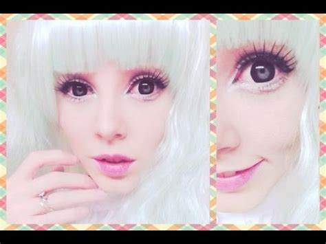 tutorial make up like a doll how to look like a living doll makeup tutorial youtube
