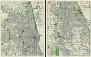 Chicago Street Numbers Map by Rand Mcnally And Co S New Street Number Guide Map Of