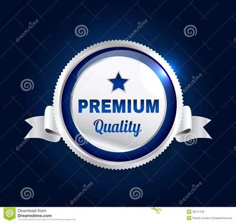 Silver Premium silver premium quality badge royalty free stock photos image 38111148